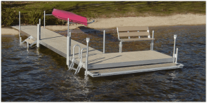 FeatherLite Dock System with Bench