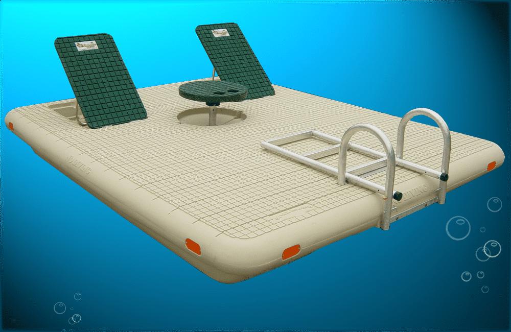 Escape Swim Raft Island Plastic Swim Rafts