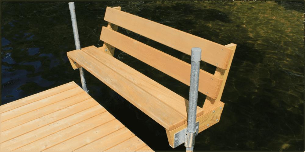 FeatherLite docks with Thru Flow™ decking.