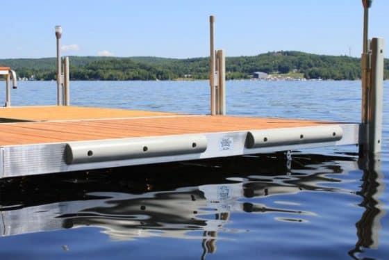 """36"""" Half Round Dock Bumper"""