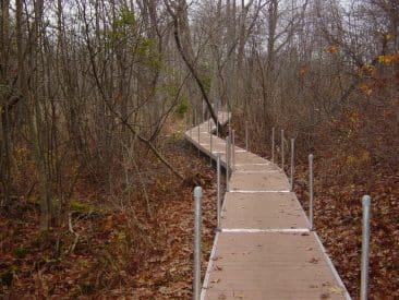 Aluminum Trail Bridge