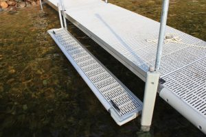 Boarding Step / Kayak Launch for FeatherLITE aluminum docks