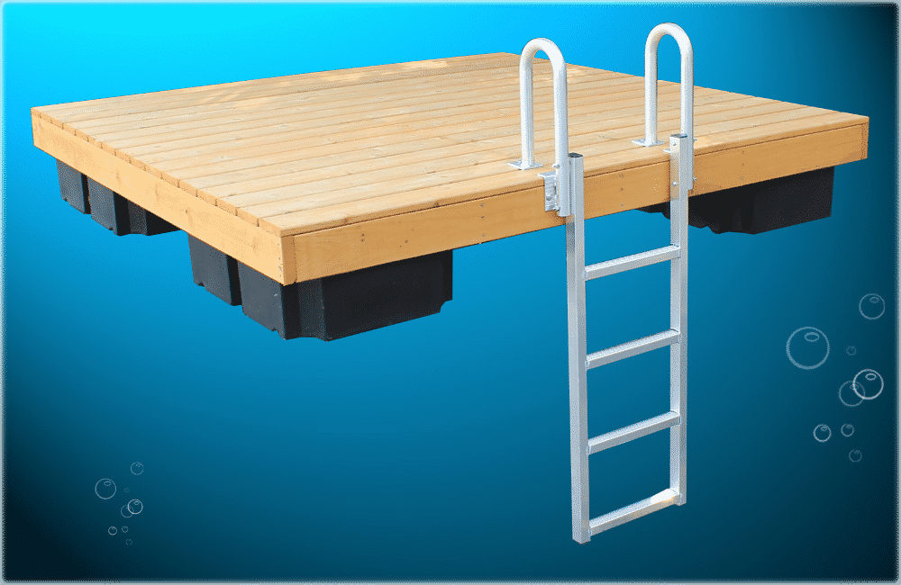 Wood Raft - Boat Docks