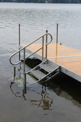Dock Stairs into Water