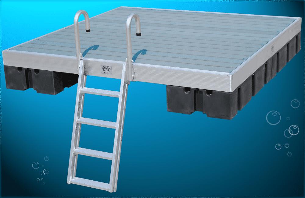Diy Kayak Rack >> Aluminum Raft DuraLITE - Boat Docks
