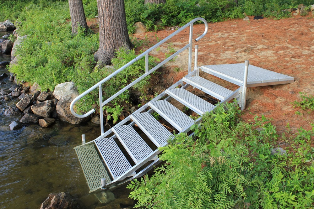 Photo Gallery Aluminum Dock Stairs Boat Docks