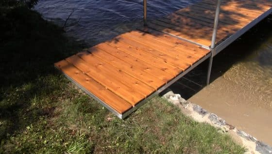 4' x 5' Dock Ramp for FeatherLITE