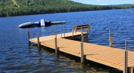 Stationary Wood Docks