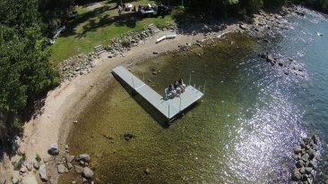 Aluminum Roller Dock