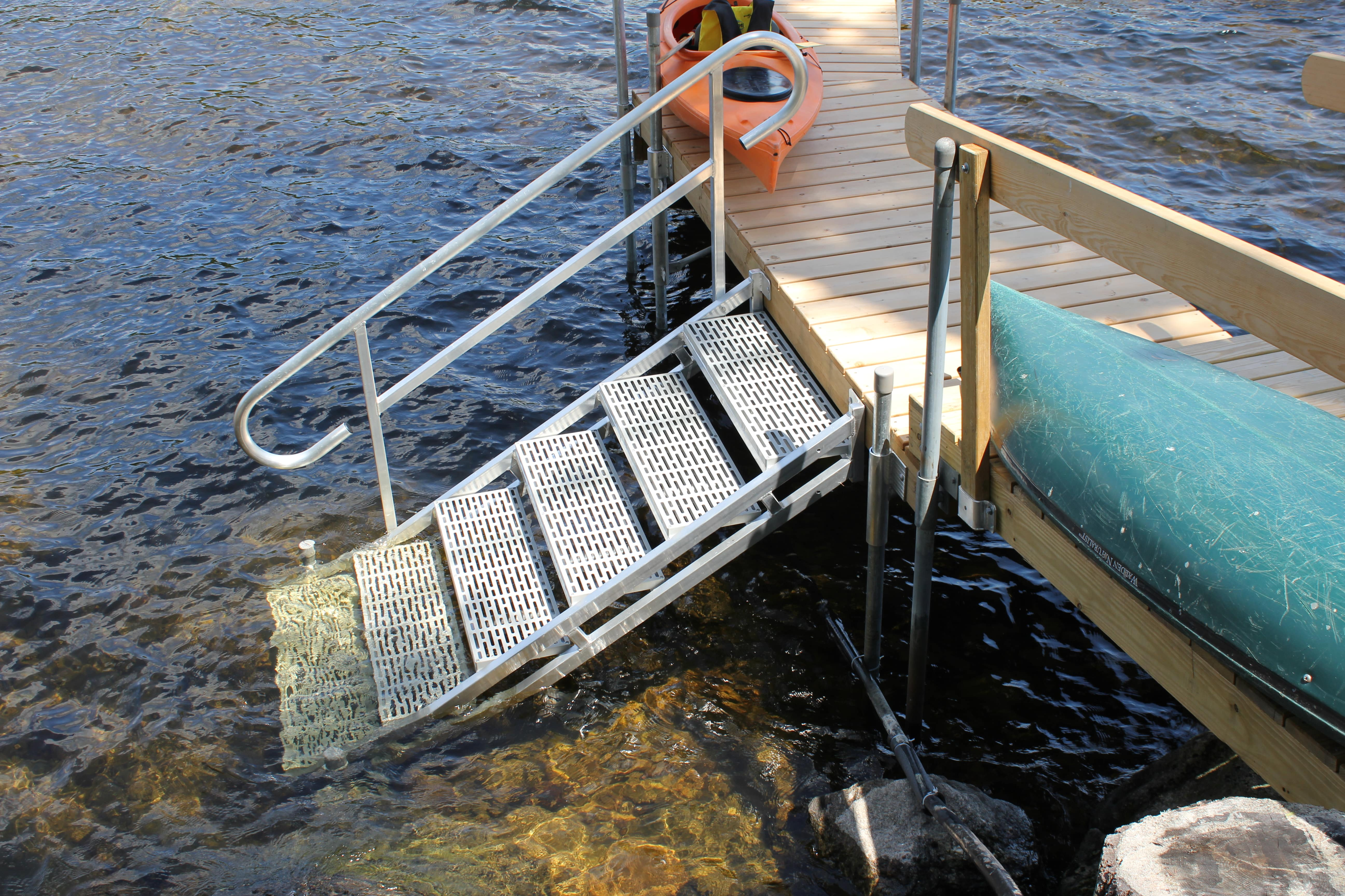 Accessories Aluminum Dock Stairs Boat Docks