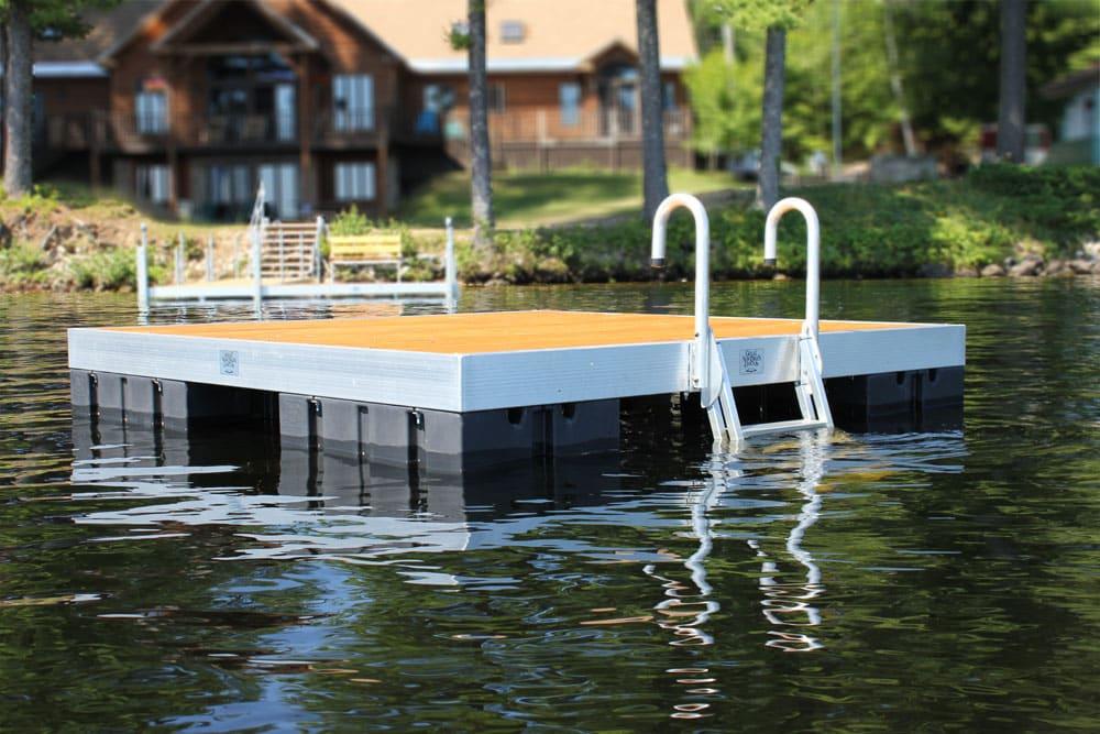 Sun Bathing Raft