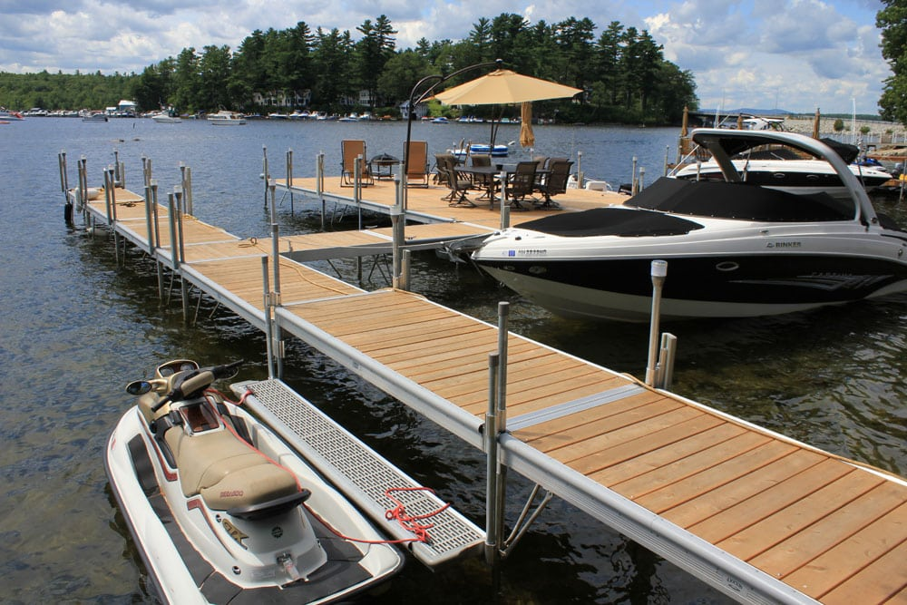 duralite premium grade aluminum docks boat docks. Black Bedroom Furniture Sets. Home Design Ideas