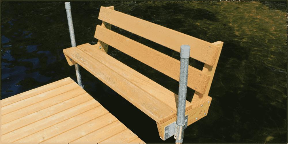 Accessories: Stationary Wood Docks - Boat Docks