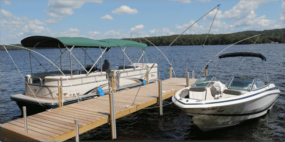 Photo Gallery: Stationary Wood Docks - Boat Docks