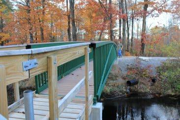 40 ft trail bridge