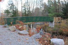 40 ft trail bridge