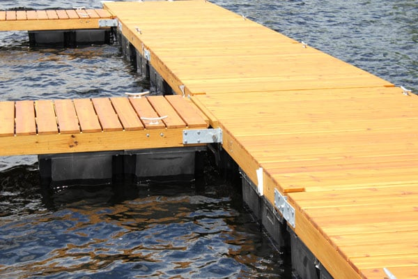 Facts & Specs: Floating Wood Docks - Boat Docks