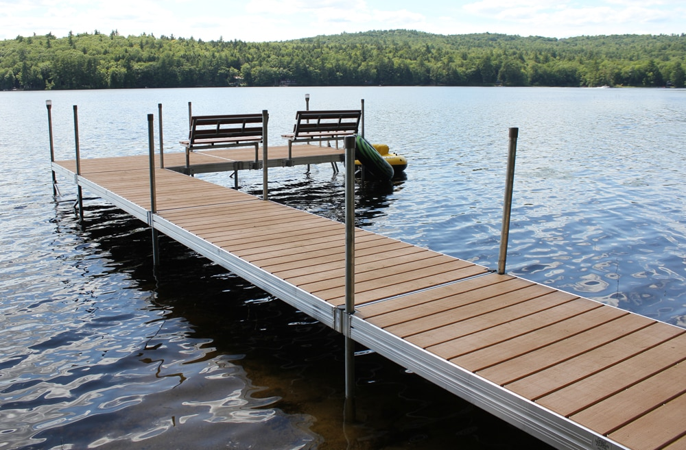 Featherlite Standard Duty Aluminum Docks