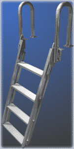 Slanted ladder