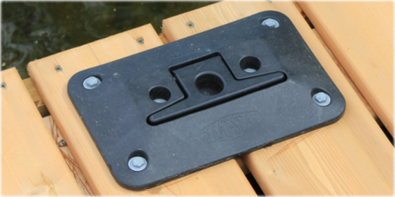 Folding Dock Cleat