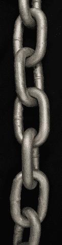 "Galvanized Chain - 5/16"", 3/8"", 1/2"""