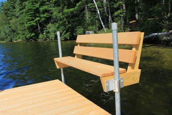 Cedar Dock Bench