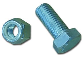 Dock Hinge Bolt with Nylock Nut Zinc (8 Pack) #9092