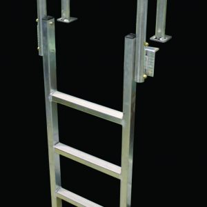 "Dock Ladder Aluminum ""Vertical"" #9078W"