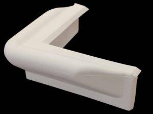 Corner Bumper White #2250