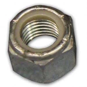 "Dock Hinge Nylock Nut 3/4"" Zinc Plated (12 Pack) #2503"