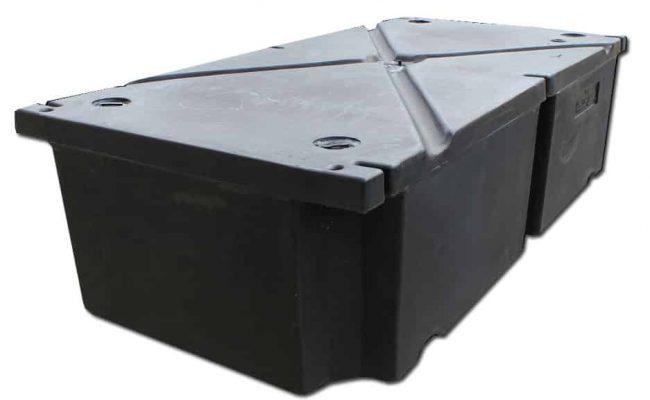 """Dock Float 12""""x24""""x48"""" Foam Filled #2305"""