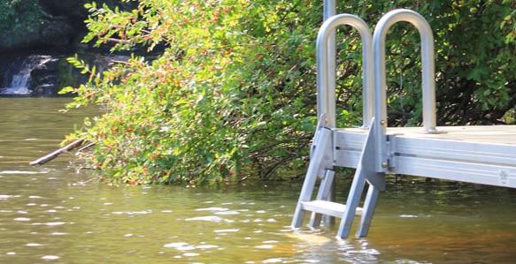 Buy A Dock Ladder Aluminum 20 186 Slanted 9079fl With