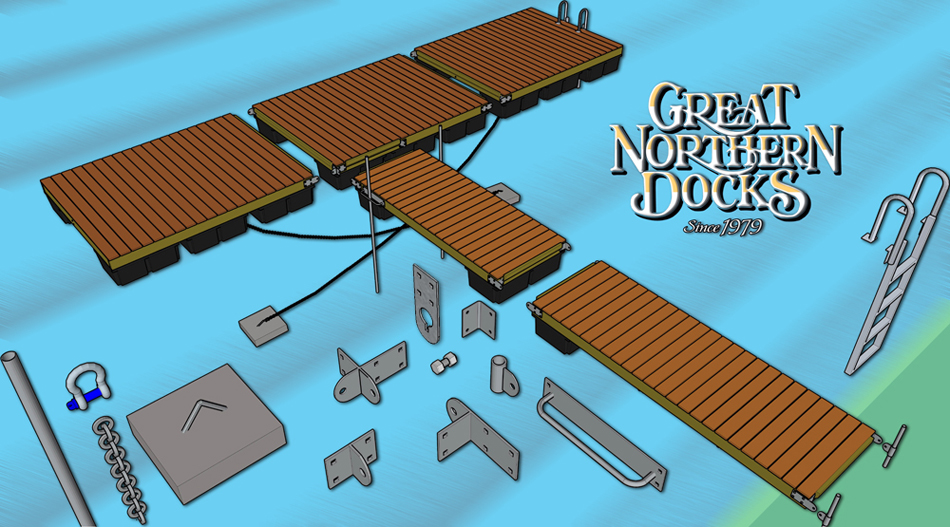 Floating Dock Parts Boat Docks