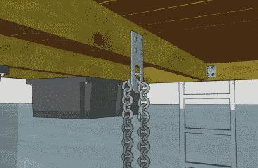 Keyhole Anchor Plate