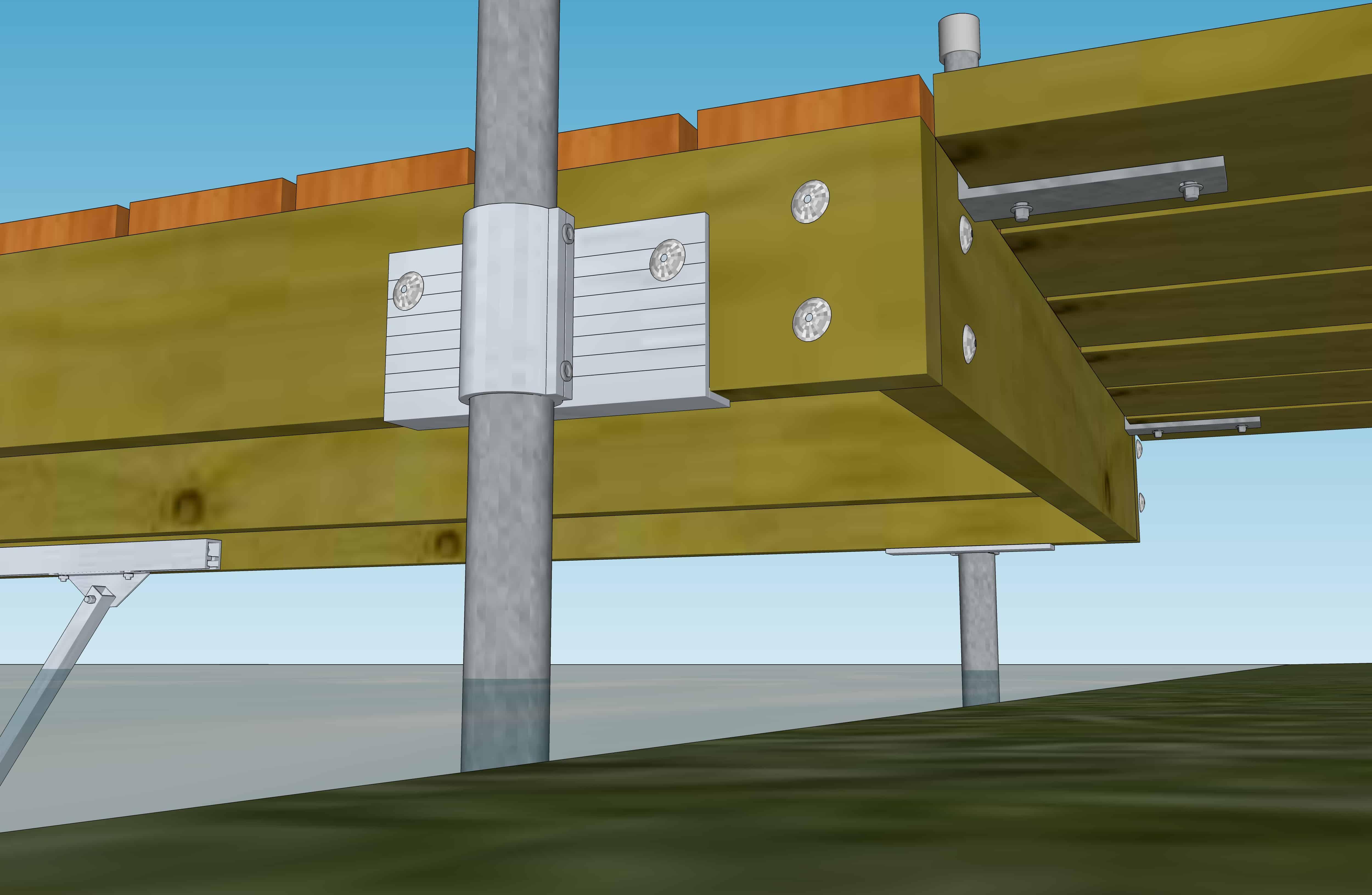 Aluminum Dock Parts