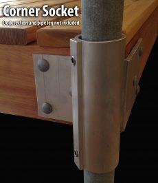 Corner Socket #4050