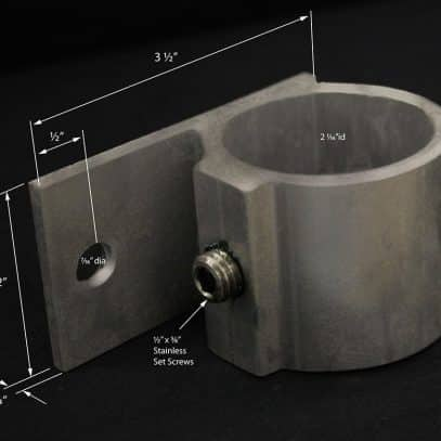 End Rail Bracket #4085