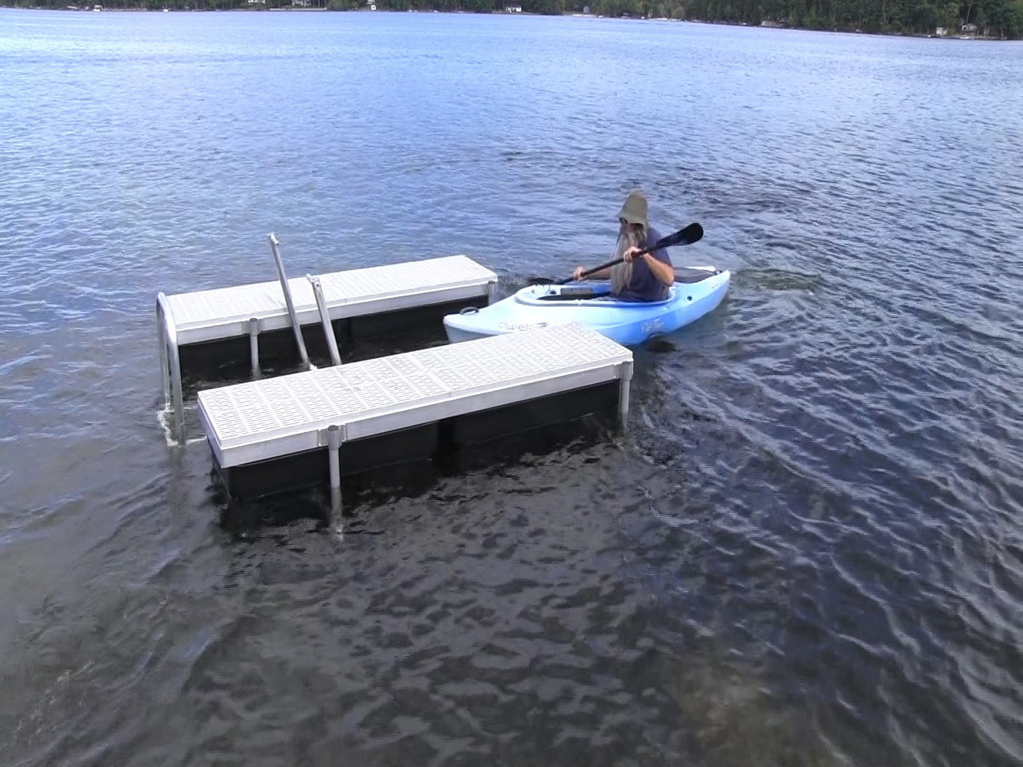Kayak Lift and Launch - Boat Docks