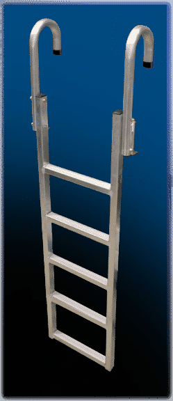 "Dock Ladder Aluminum ""Vertical"" #9078DL-5 (With DuraLITE Bolt Kit) For DuraLITE Dock Frame only"