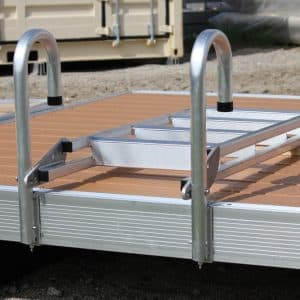 Dock Ladder Aluminum (20º Slanted) # 9079DL (With DuraLITE Bolt Kit)