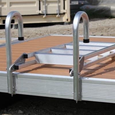 Dock Ladder Aluminum (20º Slanted) # 9079DL (With DuraLITE Bolt Kit)