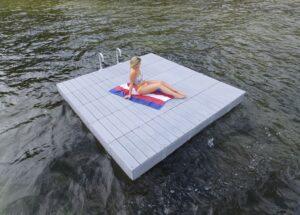 Swim Rafts Great Northern Docks - Picnic table raft