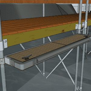 Boarding Step 5′ for Stationary Docks #9570TF