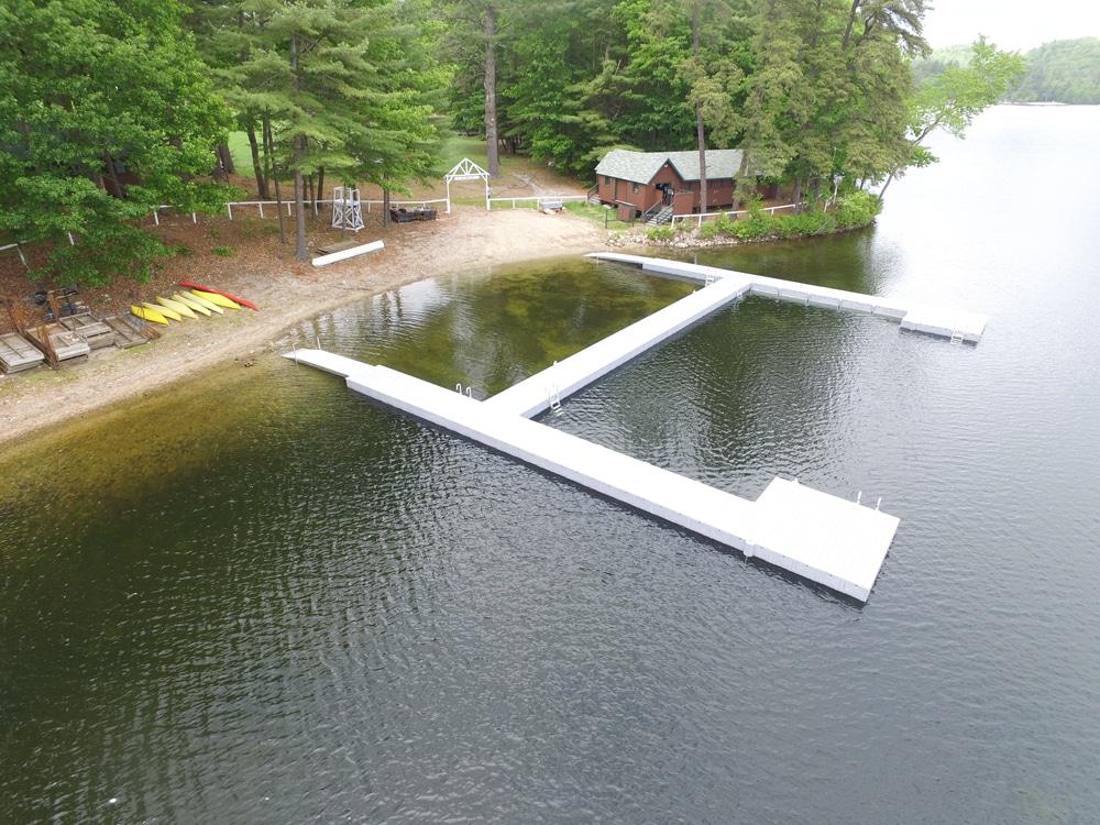Modular Plastic Docks - Boat Docks