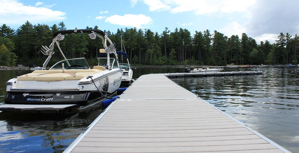 Floating Aluminum Docks - Great Northern Docks