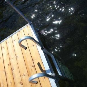 "Dock Ladder Aluminum ""Vertical"" #9078DL (With Dura-LITE™ Bolt Kit) For Dura-LITE™ Dock Frame only"